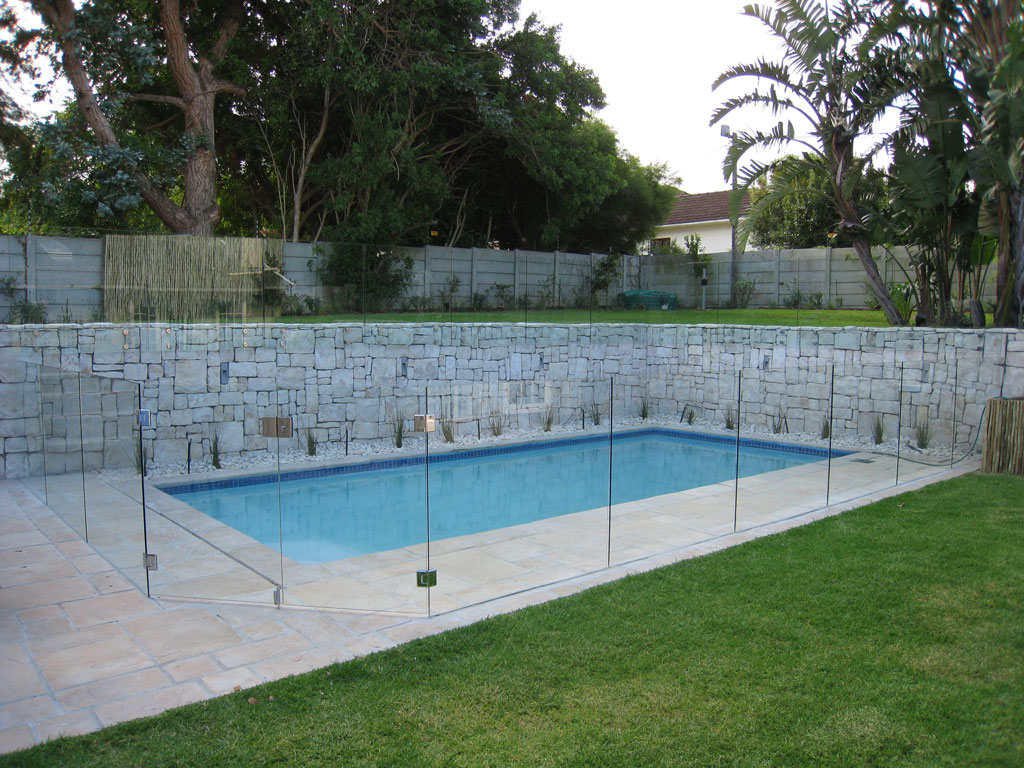 Frameless Glass Balustrades Swimming Pool Glass Fence Johannesburg Balustrades Fencing Fence